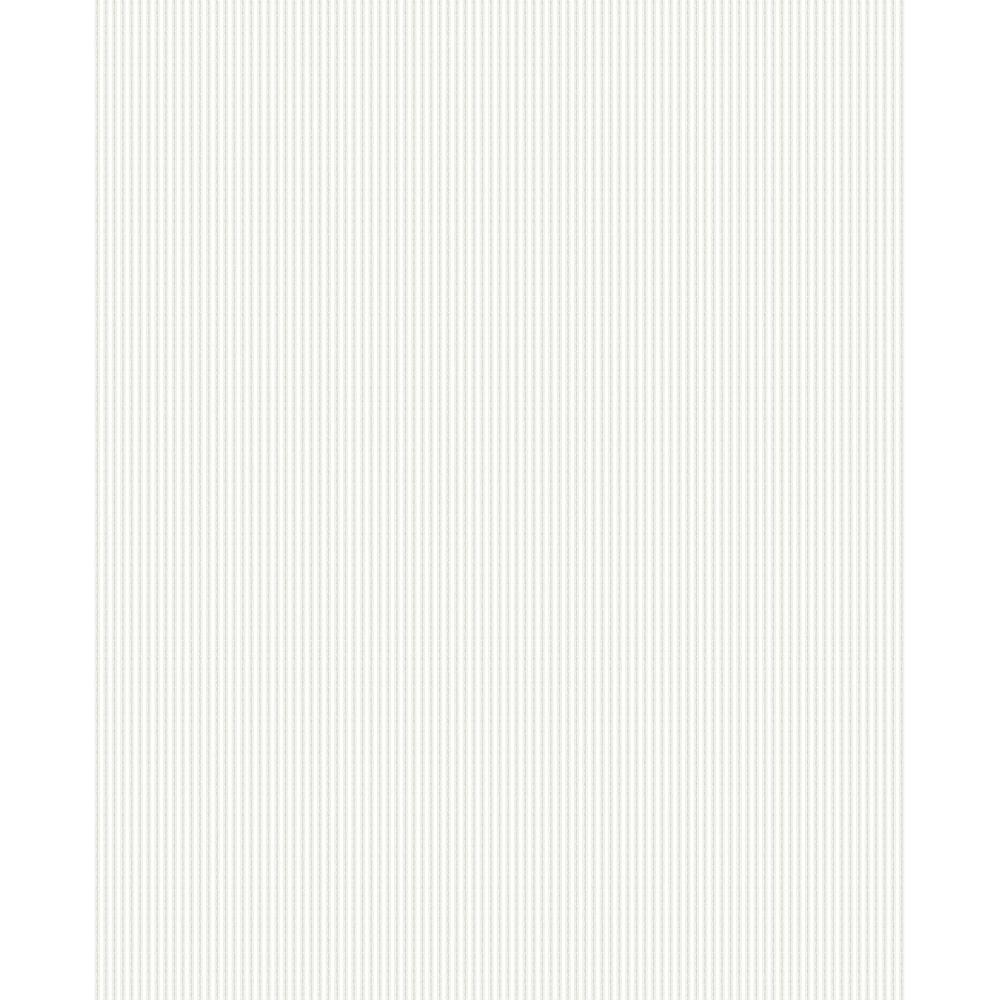 Rochester Plain Textured Glitter Wallpaper White Silver FD40901