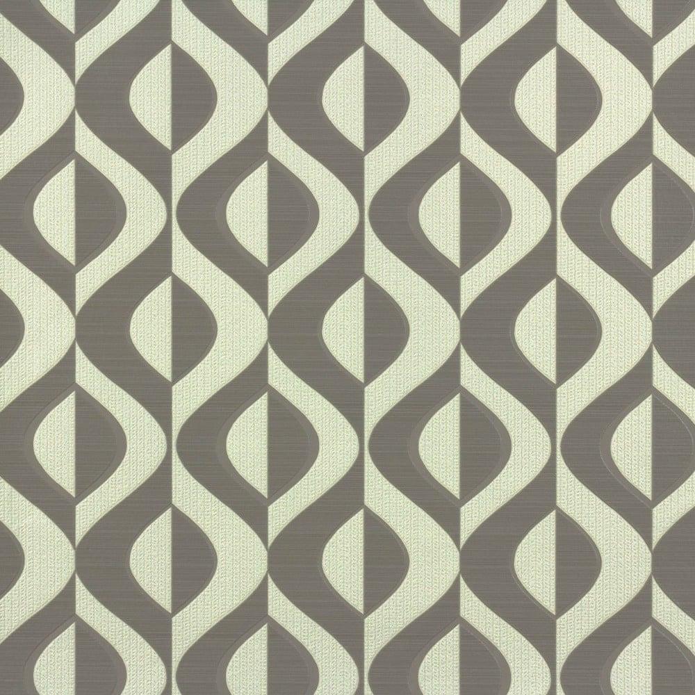 Rasch Retro Geometric Wallpaper Brown, Cream (773958 ...